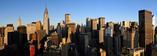 Część panoramy Manhattanu