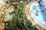 Warto zobaczyć i odwiedzić. Tropikalna wyspa pod Berlinem. Zobaczcie bryłę, w której Niemcy zamknęli tropikalna wyspę! Galeria zdjęć
