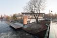 Marina w Bydgoszczy i jej otoczenie