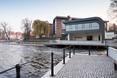 Bryła marindy w Bydgoszczy i ukryty w niej hotel