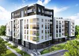 Ekologiczna bryła wielorodzinnego budynku w Warszawie. Zobaczcie ile będą kosztować mieszkania  w ekologicznym i energooszczędnym budynku