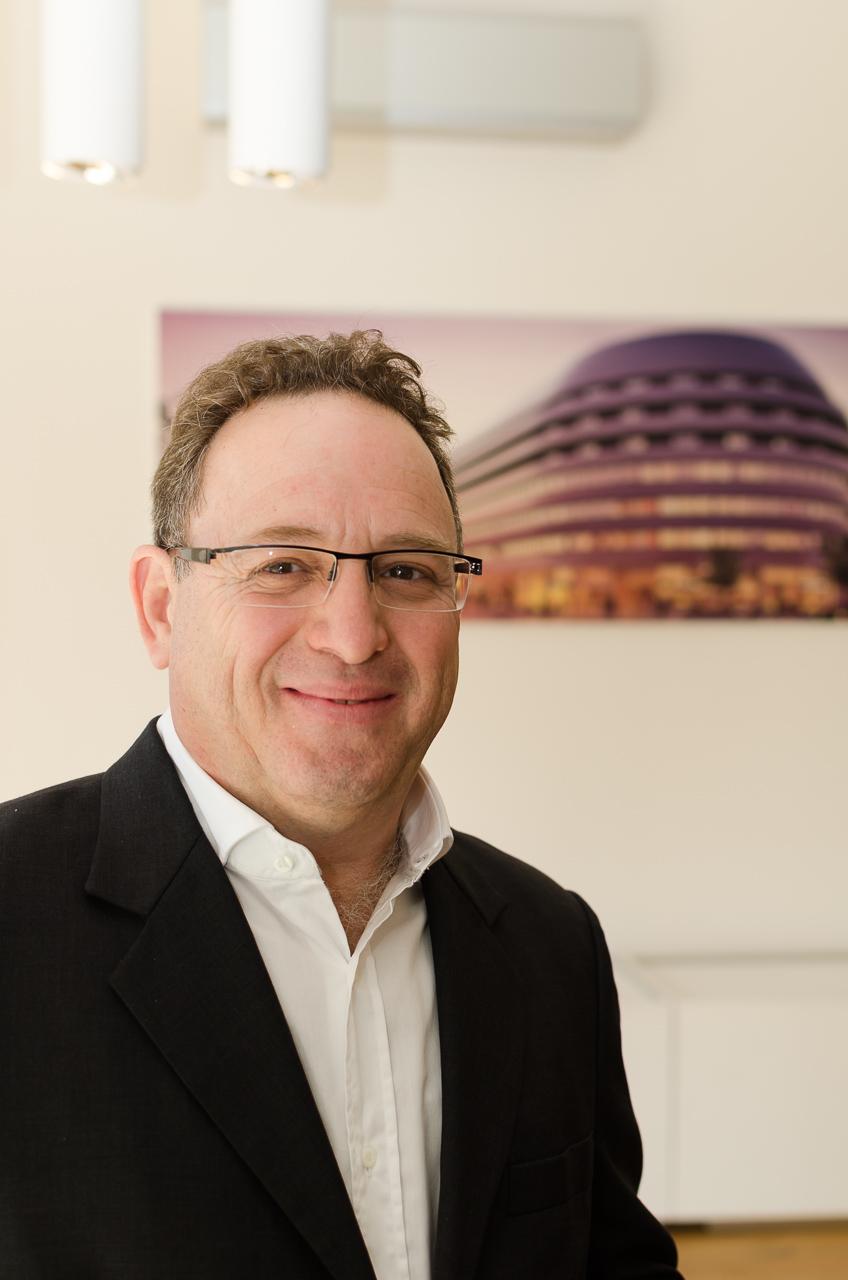 Asaf Gottesman, jeden z projektantów OVO Wrocław