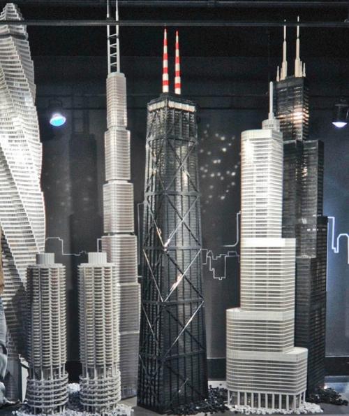 Wieżowce z LEGO